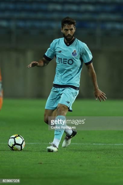 Porto defender Felipe from Brazil during the PreSeason Friendly match between Portimonense SC and FC Porto at Estadio do Algarve on July 27 2017 in...