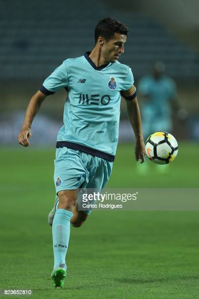Porto defender Ivan Marcano from Spain during the PreSeason Friendly match between Portimonense SC and FC Porto at Estadio do Algarve on July 27 2017...