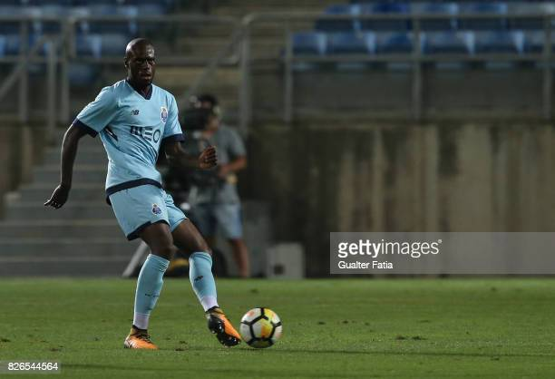 Porto defender Martins Indi from Holland in action during the PreSeason Friendly match between Portimonense SC and FC Porto at Estadio Algarve on...