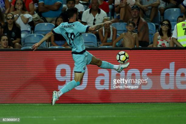 Porto defender Miguel Layun from Mexico during the PreSeason Friendly match between Portimonense SC and FC Porto at Estadio do Algarve on July 27...