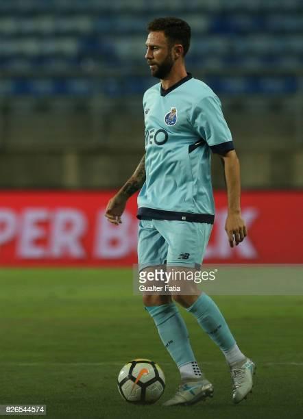 Porto defender Miguel Layun from Mexico in action during the PreSeason Friendly match between Portimonense SC and FC Porto at Estadio Algarve on July...