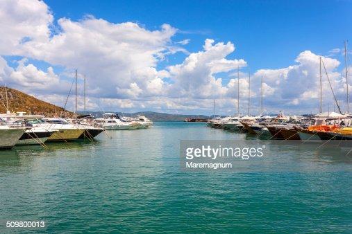 Porto Ercole, the seaport