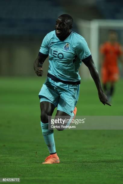 Porto forward Moussa Marega from Mali during the PreSeason Friendly match between Portimonense SC and FC Porto at Estadio do Algarve on July 27 2017...