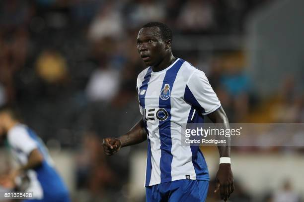 Porto forward Vincent Aboubakar from Cameroon during the match between Vitoria Guimaraes v FC Porto match for the Guimaraes City Trophy at Estadio da...