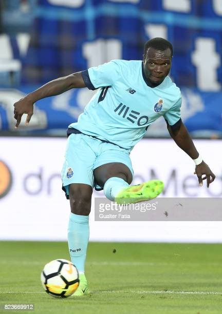 Porto forward Vincent Aboubakar from Cameroon in action during the PreSeason Friendly match between Portimonense SC and FC Porto at Estadio Algarve...
