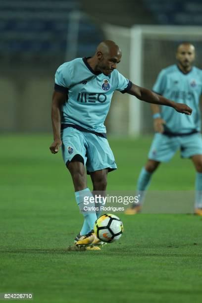 Porto forward Yacine Brahimi from Algeria during the PreSeason Friendly match between Portimonense SC and FC Porto at Estadio do Algarve on July 27...