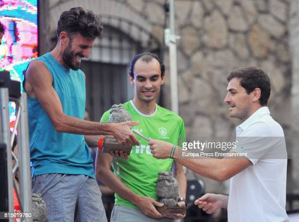 Porto goalkeeper Iker Casillas is seen on June 17 2017 in Navalacruz Spain