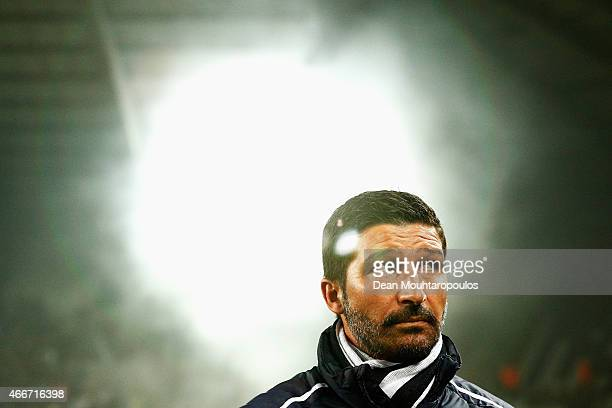 Porto Head Coach / Manager Antonio Folha looks on prior to the UEFA Youth League quarter final match between RSC Anderlecht and FC Porto at Constant...