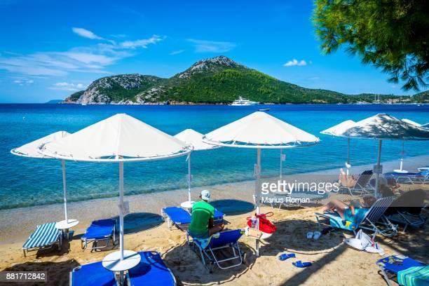 Porto Koufo beach, Sithonia, Halikidiki, Macedonia, Greece.