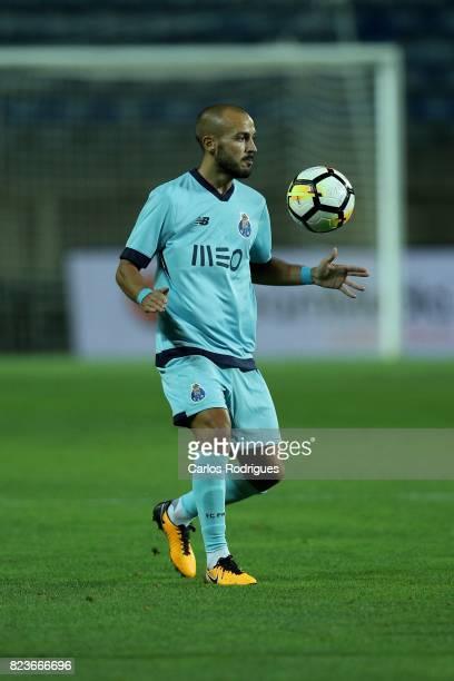 Porto midfielder Andre Andre from Portugal during the PreSeason Friendly match between Portimonense SC and FC Porto at Estadio do Algarve on July 27...