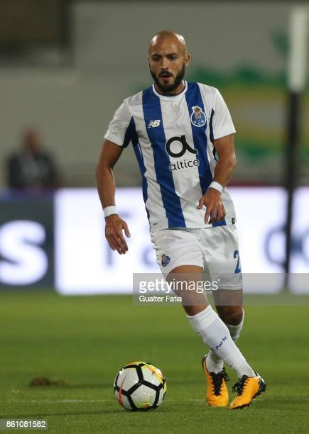 Porto midfielder Andre Andre from Portugal in action during the Portuguese Cup match between Lusitano Ginasio Clube and FC Porto at Estadio do...