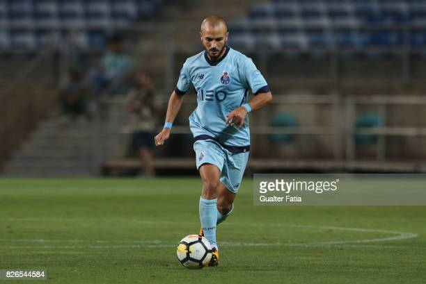 Porto midfielder Andre Andre from Portugal in action during the PreSeason Friendly match between Portimonense SC and FC Porto at Estadio Algarve on...