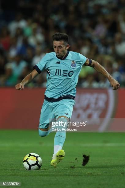 Porto midfielder Hector Herrera from Mexico during the PreSeason Friendly match between Portimonense SC and FC Porto at Estadio do Algarve on July 27...