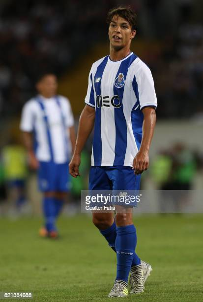 Porto midfielder Oliver Torres from Spain during the PreSeason Friendly match between Vitoria de Guimaraes and FC Porto at Estadio D Afonso Henriques...