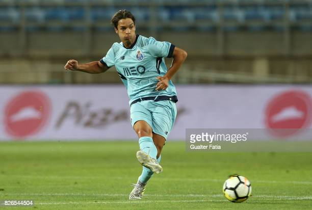 Porto midfielder Oliver Torres from Spain in action during the PreSeason Friendly match between Portimonense SC and FC Porto at Estadio Algarve on...