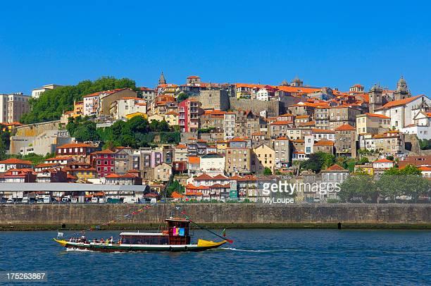 Porto Oporto Douro river Ribeira district UNESCO World Heritage Site Portugal Europe