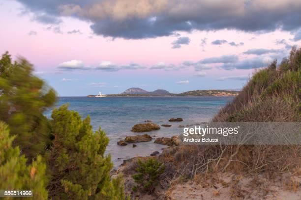 Porto Rotondo at dusk, Portisco (Olbia) Costa Smeralda, Olbia-Tempio province, Sardinia district, Italy