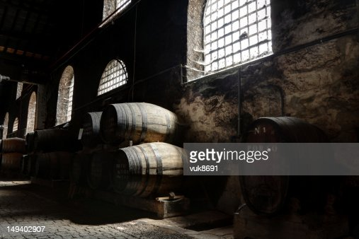 Porto wine cellar : Foto de stock