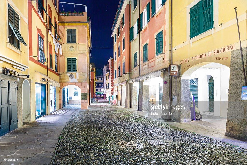 Portofino by night