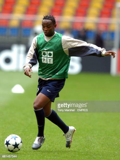 FC Porto's Benni McCarthy training
