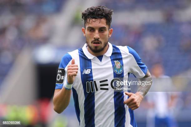 Porto's Brazilian defender Alex Telles during the Premier League 2016/17 match between FC Porto and FC Paços de Ferreira at Dragao Stadium in Porto...