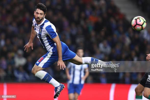 Porto's Brazilian defender Felipe in action during the Premier League 2016/17 match between FC Porto and Sporting CP at Dragao Stadium in Porto on...
