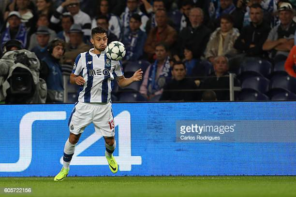 Porto's defender from Brazil Alex Telles during the UEFA Champions League match between FC Porto v FC Copenhagen at Estadio do Dragao on September 14...