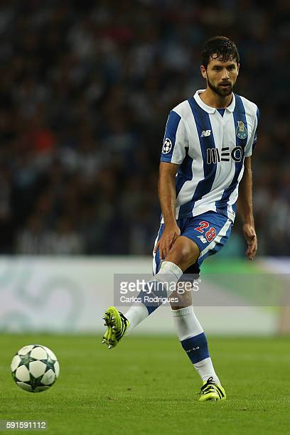PortoÕs defender from Brazil Felipe during the match between FC Porto v AS Rome UEFA Champions League playoff match at Estadio do Dragao on August 17...