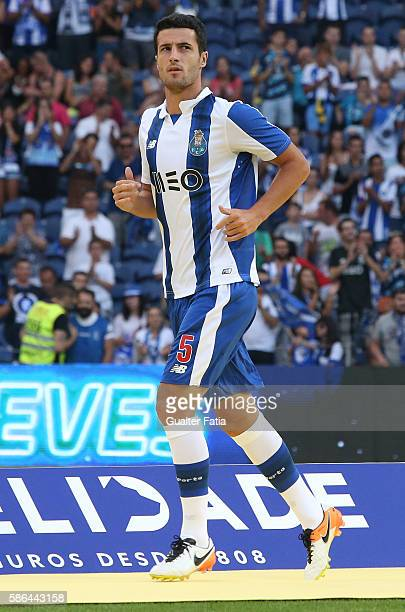 Porto's defender from Spain Ivan Marcano during FC Porto's team presentation before the start of the PreSeason Friendly match between FC Porto and...