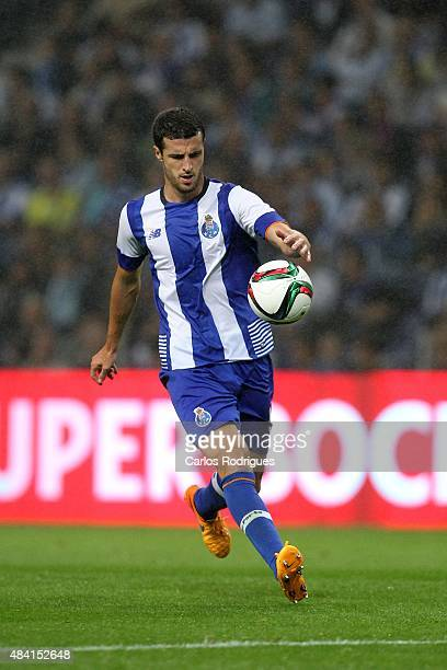 Porto's defender Ivan Marcano during the match between FC Porto and Vitoria Guimaraes for the Portuguese Primeira Liga at Estadio do Dragao on August...