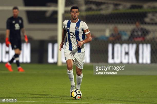 Porto's defender Ivan Marcano from Spain during the match between Lusitano Ginasio Clube and FC Porto for the Portuguese Cup at Estadio do Restelo on...