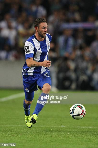 Porto's defender Layun during the match between FC Porto and SL Benfica for the Portuguese Primeira Liga at Estadio do Dragao on September 20 2015 in...