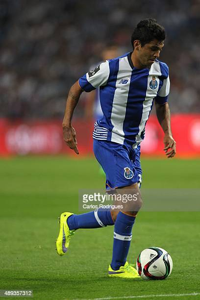 Porto's forward Jesus Corona during the match between FC Porto and SL Benfica for the Portuguese Primeira Liga at Estadio do Dragao on September 20...