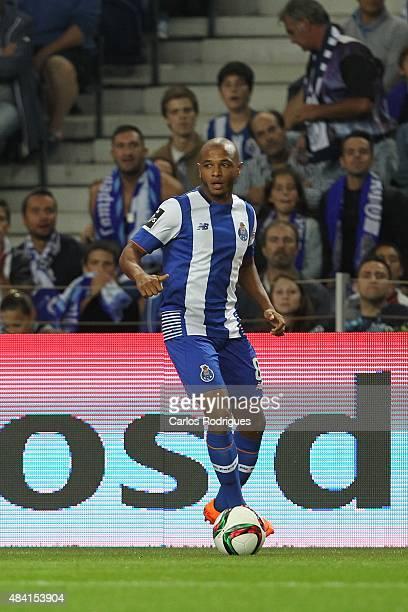 Porto's forward Yacine Brahimi during the match between FC Porto and Vitoria Guimaraes for the Portuguese Primeira Liga at Estadio do Dragao on...