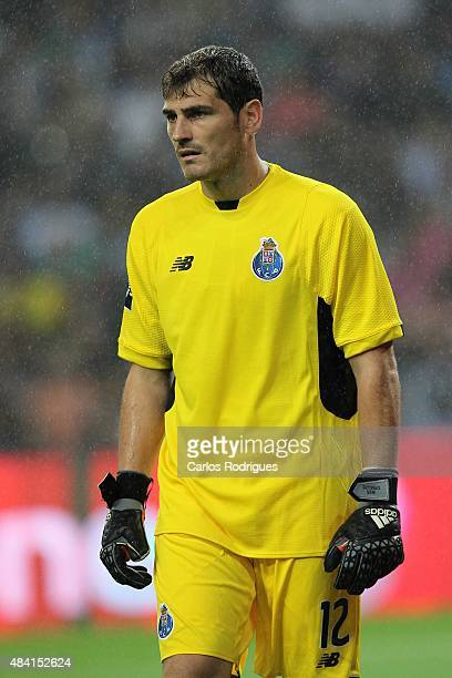Porto's goalkeeper Iker Casillas during the match between FC Porto and Vitoria Guimaraes for the Portuguese Primeira Liga at Estadio do Dragao on...