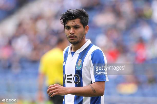 Porto's Mexican forward Jesus Corona during the Premier League 2016/17 match between FC Porto and FC Paços de Ferreira at Dragao Stadium in Porto on...