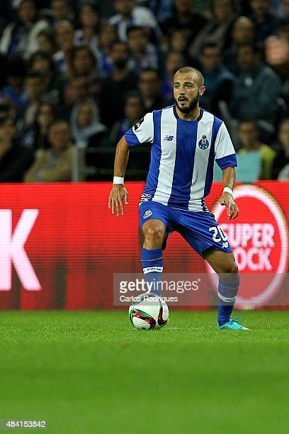 Porto's midfielder Andre Andre during the match between FC Porto and Vitoria Guimaraes for the Portuguese Primeira Liga at Estadio do Dragao on...
