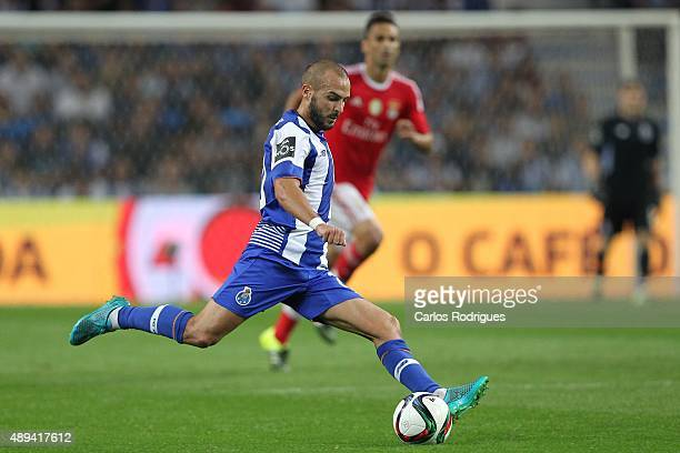 Porto's midfielder Andre Andre during the match between FC Porto and SL Benfica for the Portuguese Primeira Liga at Estadio do Dragao on September 20...