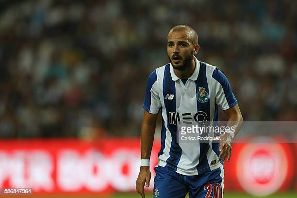 Porto's midfielder Andre Andre during the match between FC Porto v Villarreal CF friendly match at Estadio do Dragao on August 6 2016 in Porto...