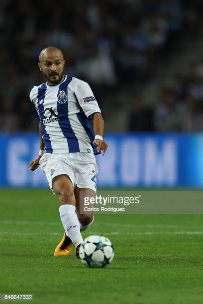 Porto's midfielder Andre Andre from Portugal during the match between FC Porto v Besiktas JK for the UEFA Champions League at Estadio do Dragao on...