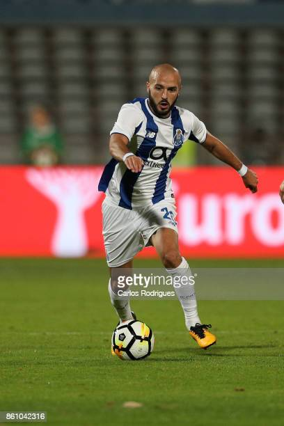 Porto's midfielder Andre Andre from Portugal during the match between Lusitano Ginasio Clube and FC Porto for the Portuguese Cup at Estadio do...