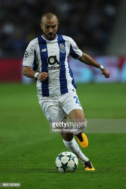 PortoÕs midfielder Andre Andre from Portugal during the match between FC Porto v RB Leipzig or the UEFA Champions League match at Estadio do Dragao...