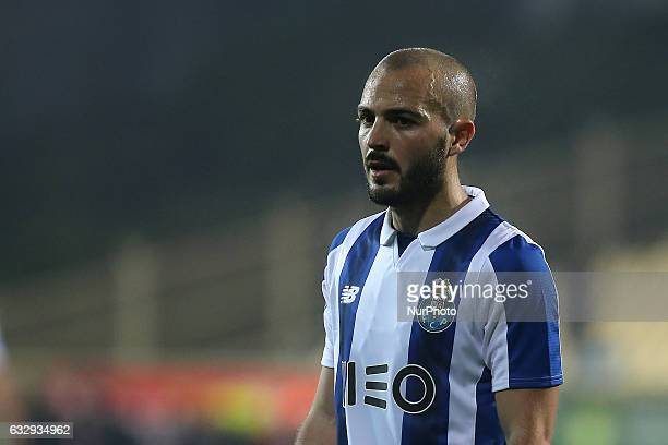 FC Portos midfielder Andre Andre from Portugal during the Premier League 2016/17 match between GD Estoril Praia v FC Porto at Estadio Antonio Coimbra...