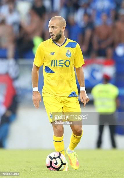 PortoÕs midfielder Andre Andre in action during the Guimaraes City Trophy match between Vitoria de Guimaraes and FC Porto at Estadio D Afonso...