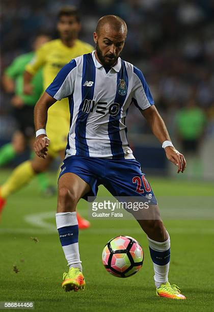 PortoÕs midfielder Andre Andre in action during the PreSeason Friendly match between FC Porto and Villarreal FC at Estadio do Dragao on August 6 2016...