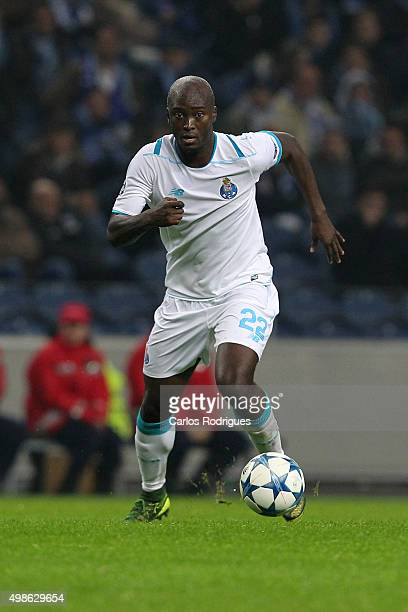 Porto's midfielder Danilo Pereira during the Champions League match between FC Porto and FC Dynamo Kyiv at Estadio do Dragao on November 24 2015 in...