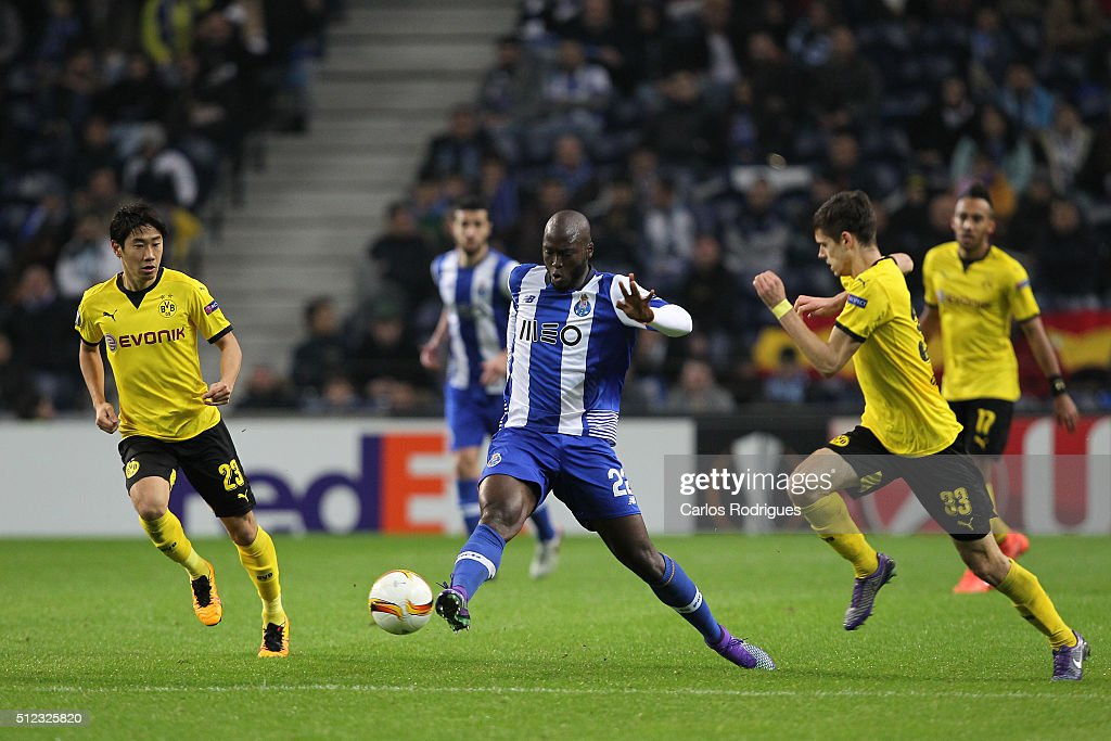 Porto's midfielder Danilo Pereira during the Champions League match between FC Porto and Borussia Dortmund for UEFA Europa League Round of 32: Second Leg at Estadio do Dragao on February, 2016 in Porto, Portugal.
