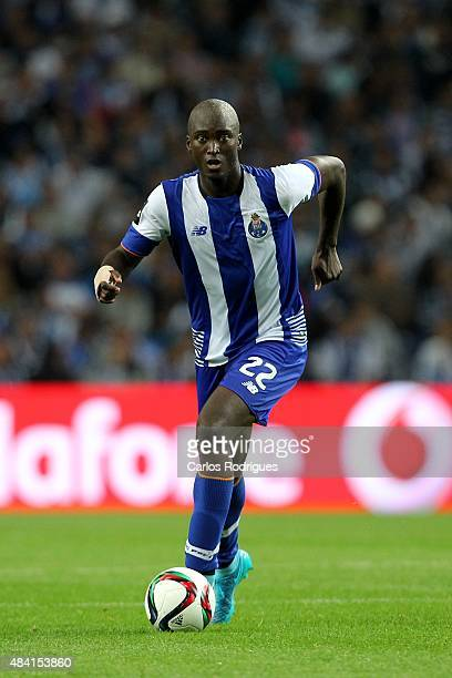 Porto's midfielder Danilo Pereira during the match between FC Porto and Vitoria Guimaraes for the Portuguese Primeira Liga at Estadio do Dragao on...