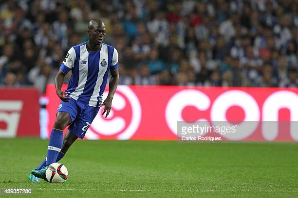 Porto's midfielder Danilo Pereira during the match between FC Porto and SL Benfica for the Portuguese Primeira Liga at Estadio do Dragao on September...