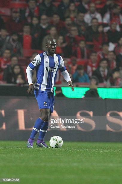 Porto's midfielder Danilo Pereira during the match between SL Benfica and FC Porto for the portuguese Primeira Liga at Estadio da Luz on February 12...